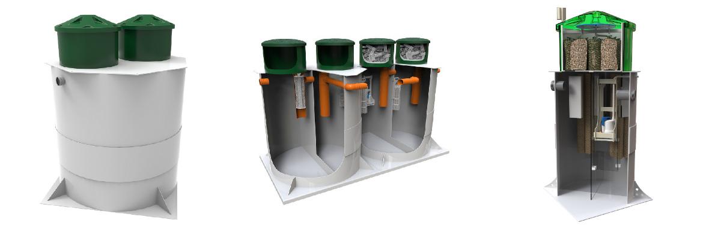 монтаж автономной канализации в частном доме