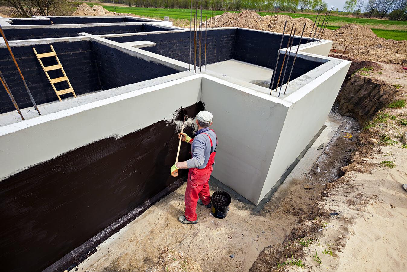 гидроизоляция фундамента уфа